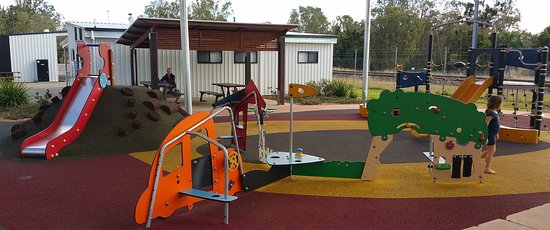 Lots of Adventure Play at Lions Park, Miriam Vale Qld