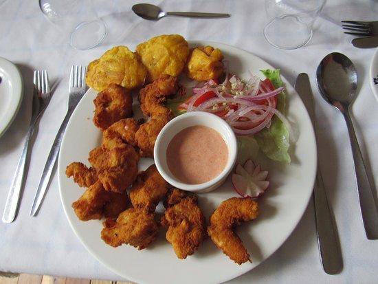 Lasso, Ekwador: shrimps