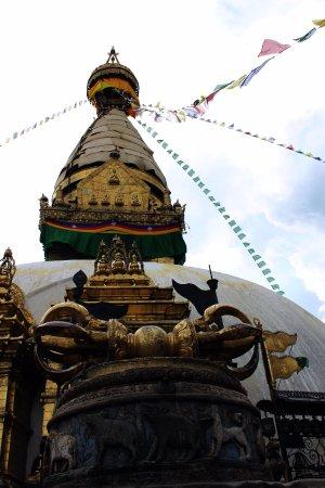 Kathmandu Valley, Νεπάλ: Uno de los templos que vimos durante el tour por Kathmandu