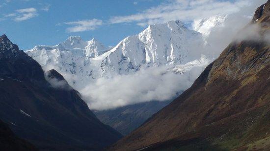Kathmandu Valley, Nepal: Near Larkya Pass