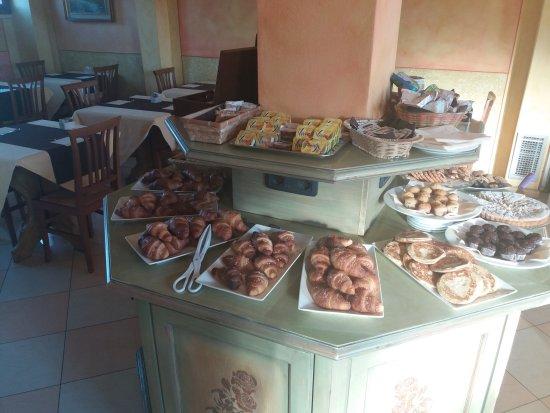 Cadoneghe, İtalya: Colazione