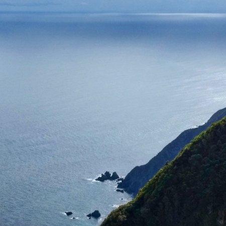 Paraparaumu, Selandia Baru: The beautiful view from Tuteremoana, 521m above sea level and the highest point of Kapiti Island