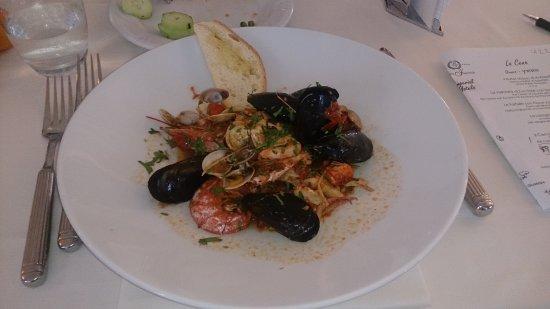 San Giuliano a Mare, Italy: Ужин