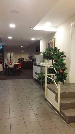 Mercure Hotel Frankfurt City Messe: Hotel's breakfast area