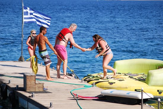 Skiathos Town, Greece: fun rides !!