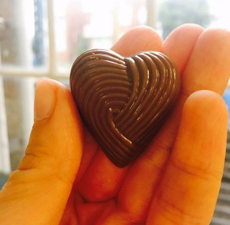 Rozelle, Australia: Butterscotch heart!