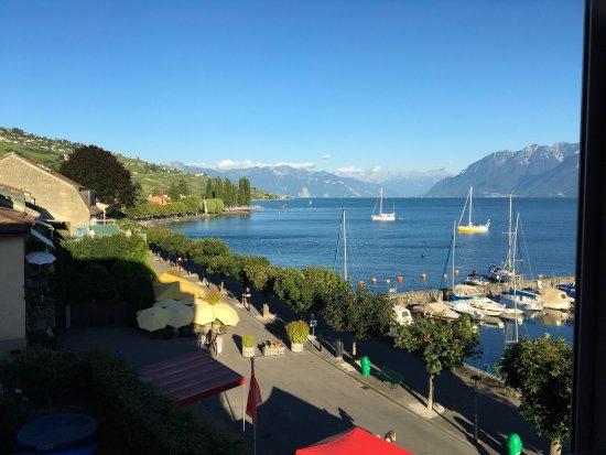 Lutry, Suíça: Blick von unserem Zimmer