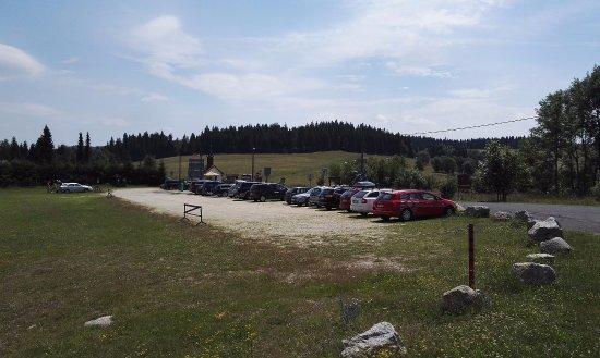 Josefův Důl, Česká republika: parkoviště Hrabětice u kapličky
