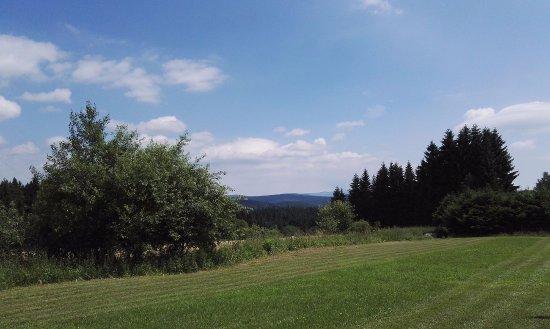 Josefův Důl, Česká republika: z parkoviště Hrabětice u kapličky