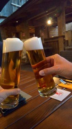 Waidring, Austria: gutes kühles Bier