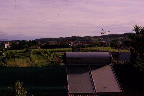 Casa Mariñeira Lourdes: Paneles solares.La actividad turística no significa malgastar energía o contaminar