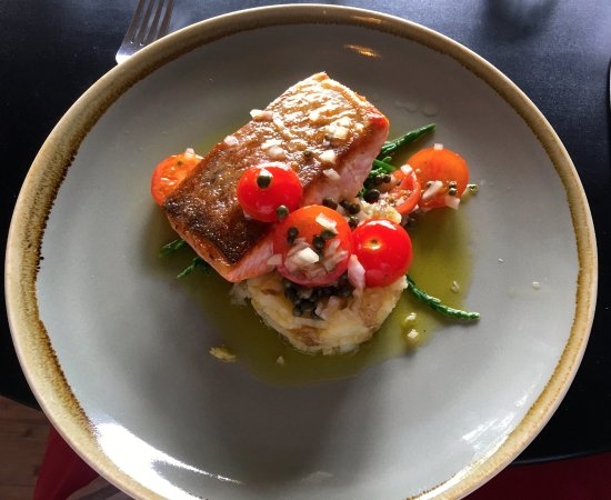 Newent, UK: sea trout