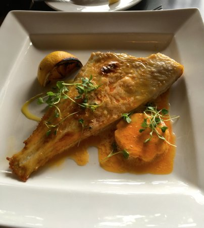 Newent, UK: plaice fillet