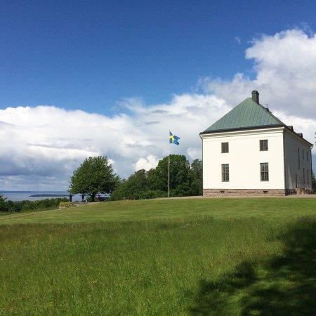 Motala, Suecia: En av de finaste utsiktspunkterna över Vättern