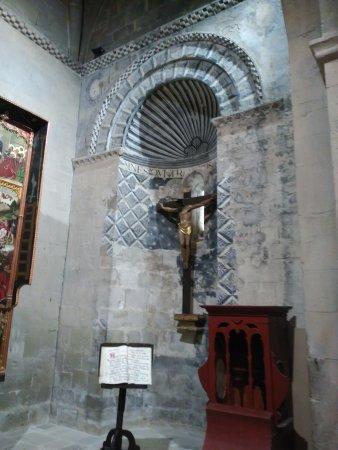 Santa Cruz De La Seros, Spain: Sta. María - Detalle Crucero