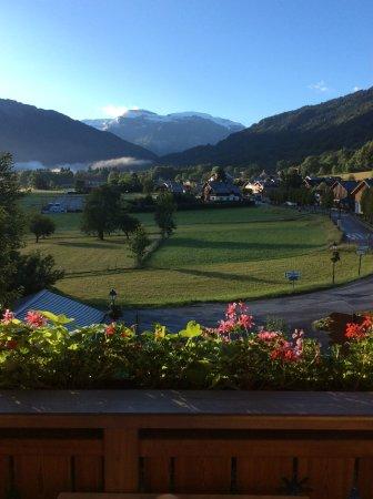 Hotel le Morillon : Prise au petit matin