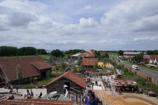 Koserow, ألمانيا: Widok na park