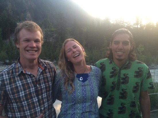 Nick(Canada), Rose(NewZealand) and George(US), helped us run the Sangla camp as volunteers in 20