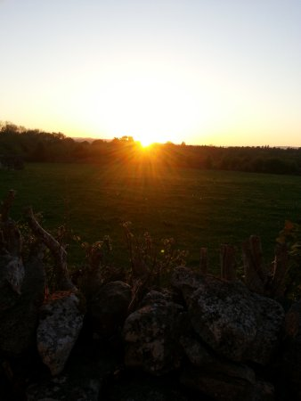 Oughterard, Ireland: Sunset from Mountain View