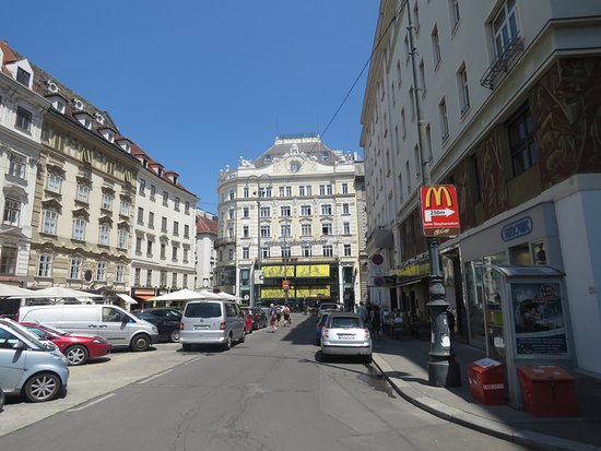 Vienna - Austria - Pension Neuer Markt - Exactly Whate We Wanted