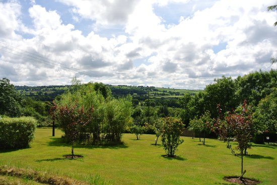 Rhydlewis, UK: Gardens and sky