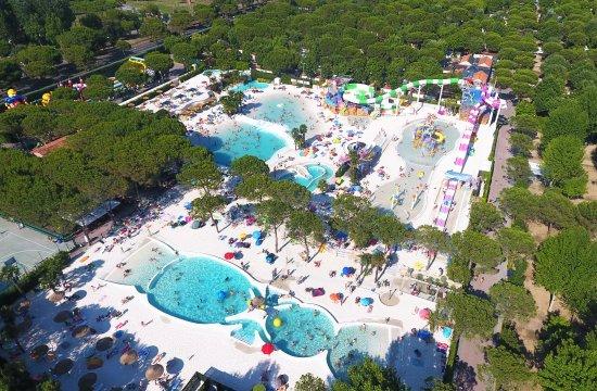 Union Lido Camping Lodging Hotel: Aqua Park Laguna
