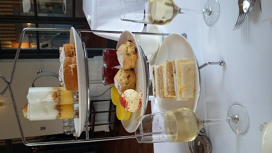 Lovely afternoon tea at Titchwell manor scrumptious and staff were friendly