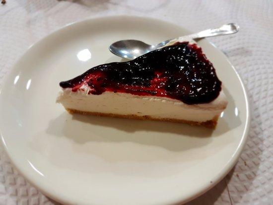 Valverde del Fresno, Spagna: Tarta de queso