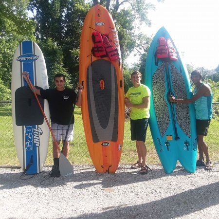 Winchester, TN: paddle boarding fun