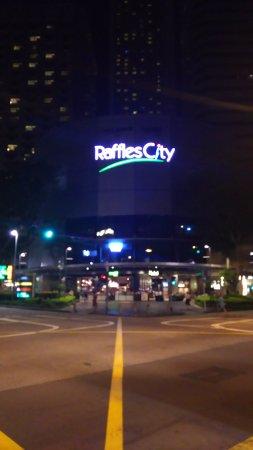 Raffles City: 外観です