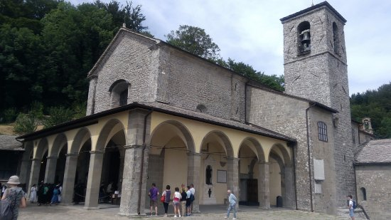 Chiusi della Verna, إيطاليا: Santuario