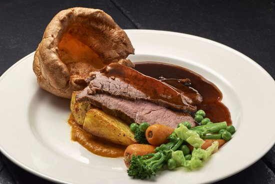 Eynsham, UK: Roast Beef