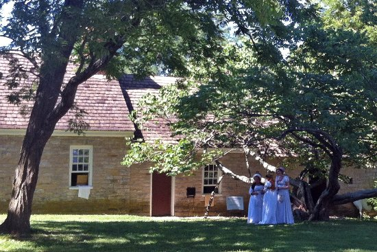 Locust Grove out building during the Jane Austen festival 2017