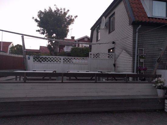 Sandhamn, Suecia: Uteservering