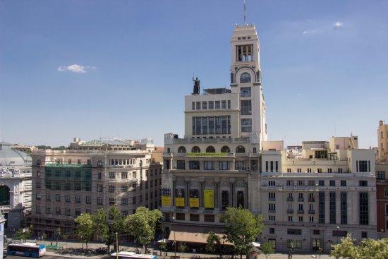 Vistas Terraza Fotografía De Restaurante ático Madrid