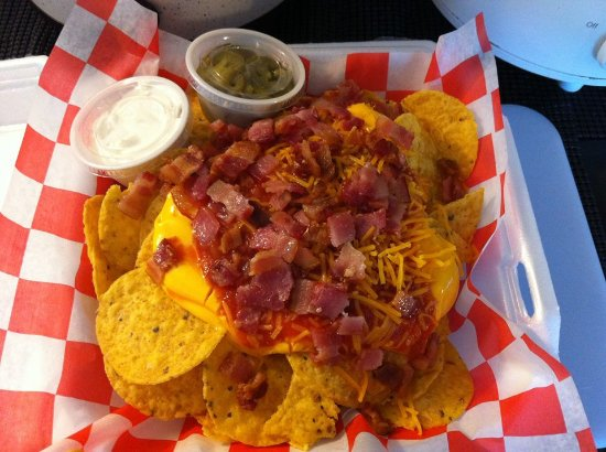 Crawfordville, Flórida: Tasty J's Loaded Nachos!
