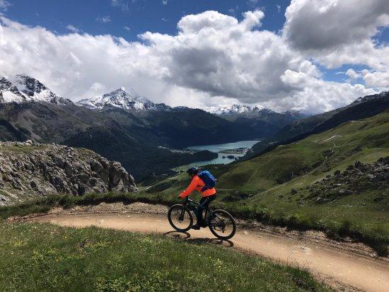 Silvaplana, Suiza: MTB St. Moritz TOP