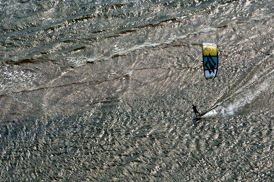 Kitesurfing in Saaremaa