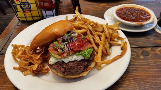 Atlantic Beach, FL: The Burger of the day for 7/17/2017