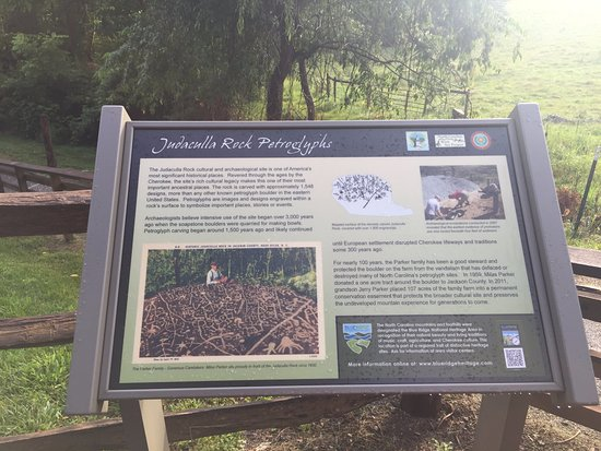 Cullowhee, NC: Interpretive Sign