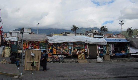 Otavalo, Ecuador: the market