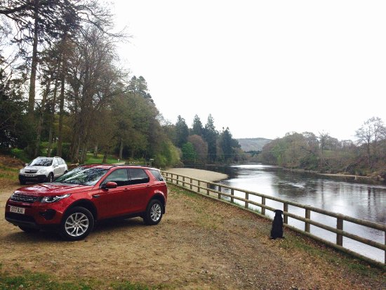 Perth, UK: Fishing on the River Tay