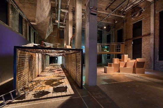 Röda Sten Konsthall during the exhibition GIBCA 2015. Photo Hendrik Zeitler