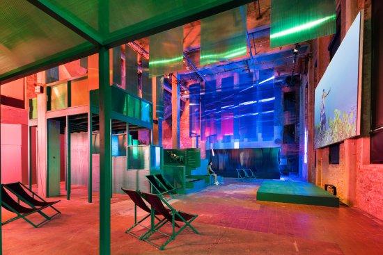 Röda Sten Konsthall during the exhibition WE ARE THE REMIX, 2017. Photo Hendrik Zeitler
