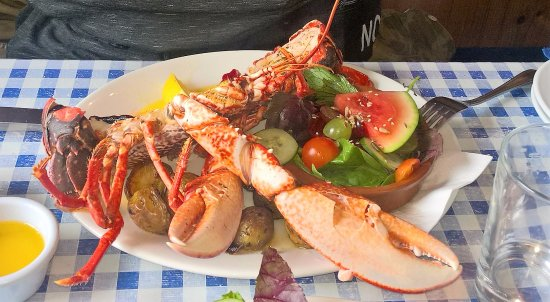 Ventry, Irland: The late Ray the Lobster