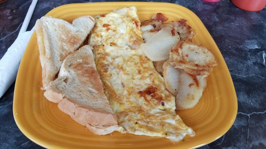 Girard, OH: ham and cheese omlet