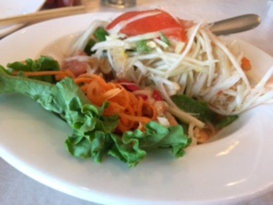 Centreville, VA: Papaya Salad