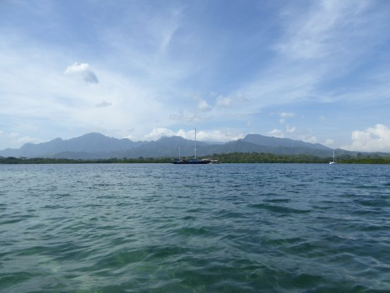 West Bali National Park, อินโดนีเซีย: inwards View from the jetty