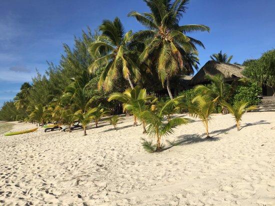 Tamanu Beach: Beautiful beach