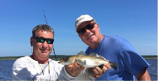 Southport, Carolina del Nord: one of the trout